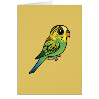 Birdorable Budgerigar Card