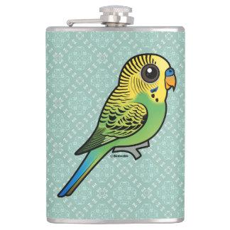 Birdorable Budgerigar Hip Flask