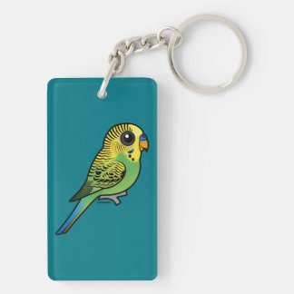 Birdorable Budgerigar Keychain