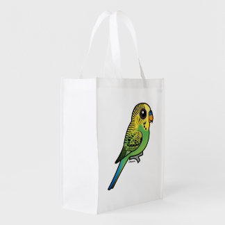 Birdorable Budgerigar Reusable Grocery Bag