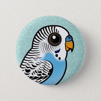 Birdorable Budgie Blue 2 Inch Round Button