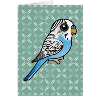 Birdorable Budgie Blue Card