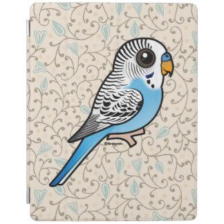 Birdorable Budgie Blue iPad Cover