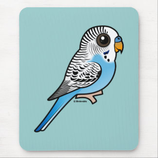 Birdorable Budgie Blue Mouse Pad