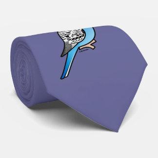 Birdorable Budgie Blue Tie