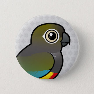 Birdorable Burrowing Parakeet 2 Inch Round Button