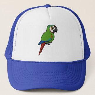 Birdorable Chestnut-fronted Macaw Trucker Hat