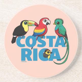 Birdorable Costa Rica Beverage Coasters