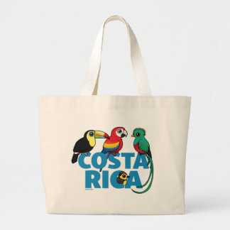 Birdorable Costa Rica Large Tote Bag