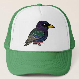 Birdorable European Starling Trucker Hat