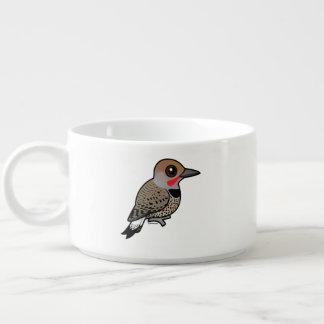 Birdorable Gilded Flicker Chili Bowl
