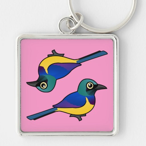 Birdorable Golden-breasted Starling Key Chain