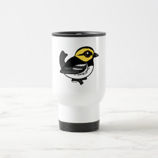 Birdorable Golden-cheeked Warbler Travel Mug