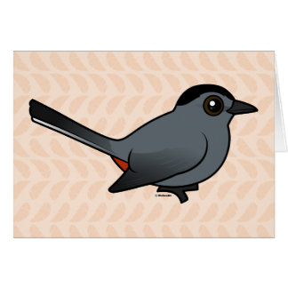 Birdorable Gray Catbird Card
