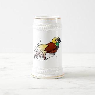 Birdorable Greater Bird-of-paradise Beer Stein