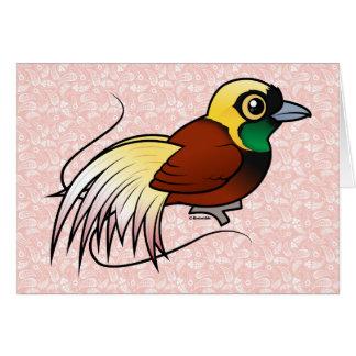 Birdorable Greater Bird-of-paradise Card
