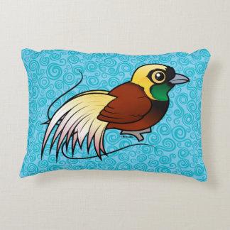 Birdorable Greater Bird-of-paradise Decorative Pillow