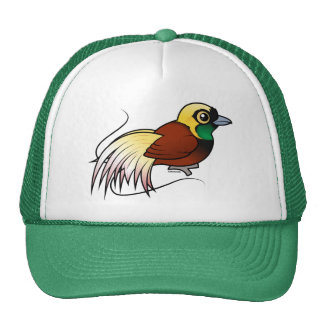 Birdorable Greater Bird-of-paradise Trucker Hat