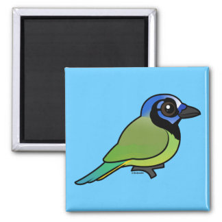Birdorable Green Jay Magnet