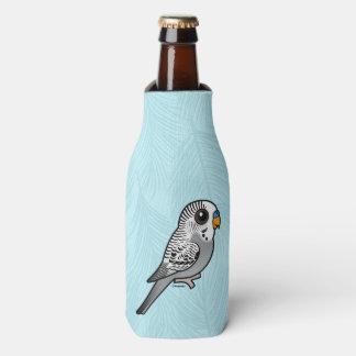 Birdorable Grey Budgie Bottle Cooler