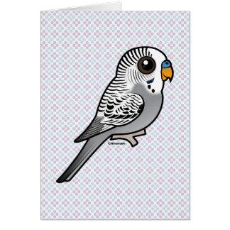 Birdorable Grey Budgie Card