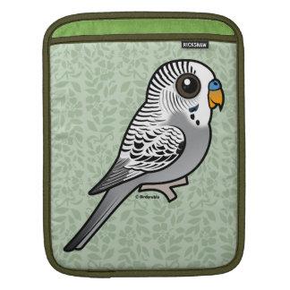Birdorable Grey Budgie iPad Sleeve