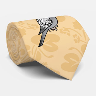 Birdorable Grey Budgie Tie