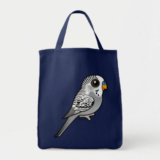 Birdorable Grey Budgie Tote Bag