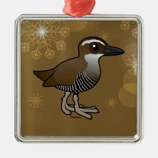 Birdorable Guam Rail Metal Ornament