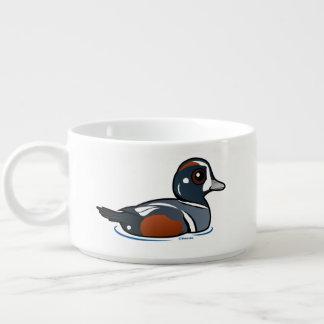 Birdorable Harlequin Duck Bowl
