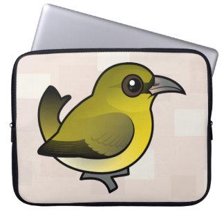 Birdorable Hawai'i 'Amakihi Laptop Sleeve