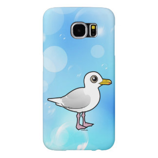 Birdorable Iceland Gull Samsung Galaxy S6 Cases