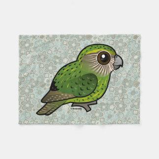 Birdorable Kakapo Fleece Blanket