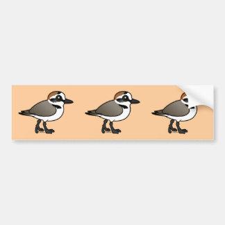 Birdorable Kentish Plover Bumper Sticker