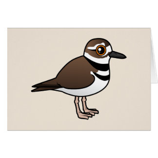 Birdorable Killdeer Card