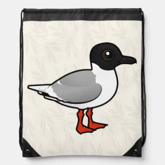 Birdorable Little Gull Drawstring Bag