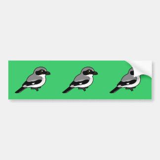 Birdorable Loggerhead Shrike Bumper Sticker