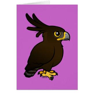 Birdorable Long-crested Eagle Card
