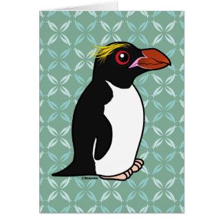 Birdorable Macaroni Penguin Card