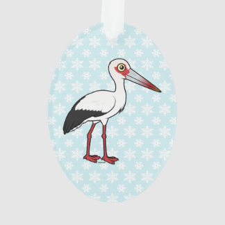 Birdorable Maguari Stork Ornament