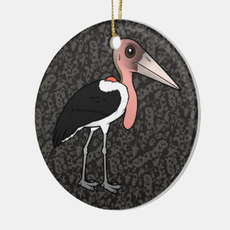 Birdorable Marabou Stork Ceramic Ornament