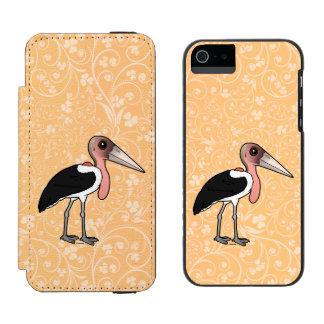 Birdorable Marabou Stork Incipio Watson™ iPhone 5 Wallet Case