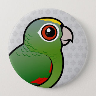 Birdorable Mealy Parrot 4 Inch Round Button