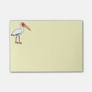 Birdorable Milky Stork Post-it Notes