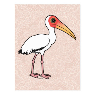 Birdorable Milky Stork Postcard