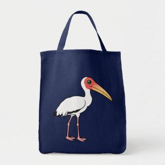 Birdorable Milky Stork Tote Bag