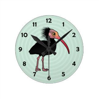 Birdorable Northern Bald Ibis Wallclock