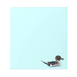 Birdorable Northern Pintail Notepad