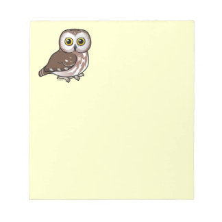 Birdorable Northern Saw-whet Owl Notepad