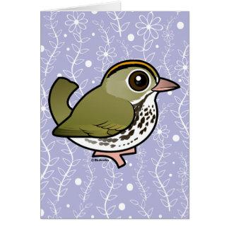 Birdorable Ovenbird Card